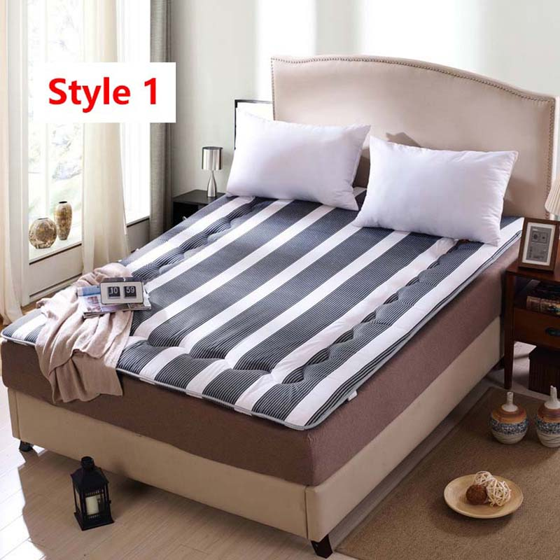 FangHua Single double student dormitory Mattress Thicken Foldable Children Tatami Family Bedspreads King Queen Twin Full Size цена