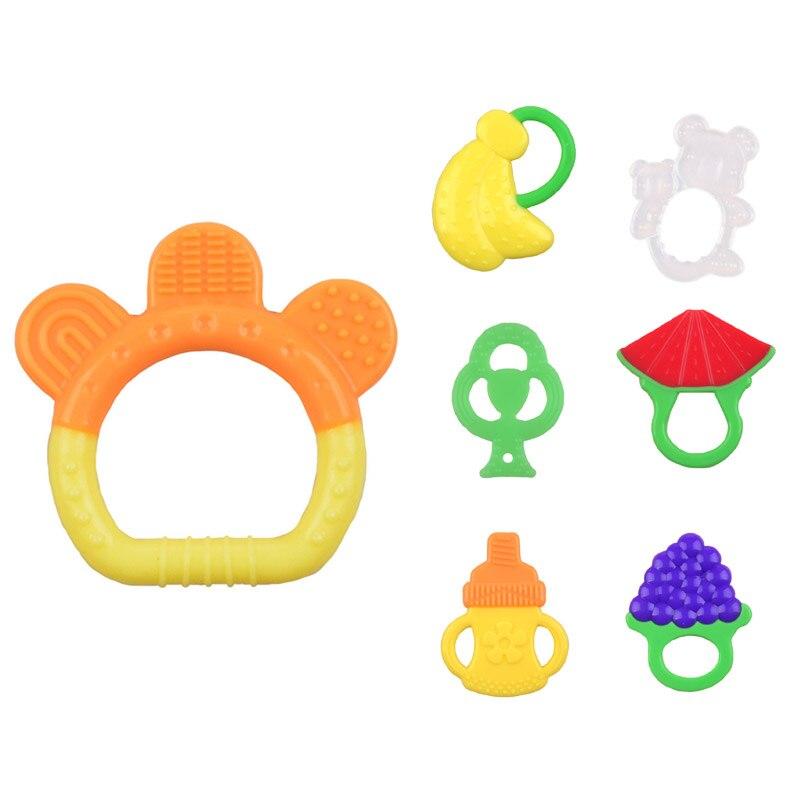 2018 Neue Baby Spielzeug Silikon Beißringe Obst Wassermelone Banane Baby Beißring Silikon Chew Charms Baby Zahnen Geschenk Kleinkind Spielzeug