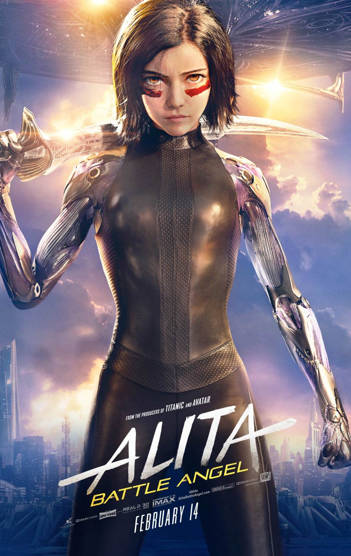 Alita Battle Angel Movie Art Canvas Poster Print 12x18 32x48 inch