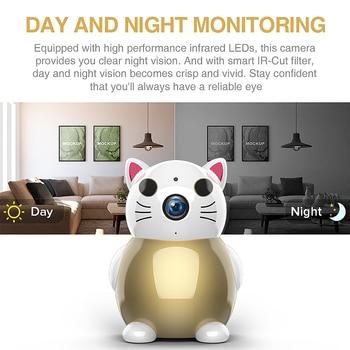 720P Lucky Cat WIFI Camera 3