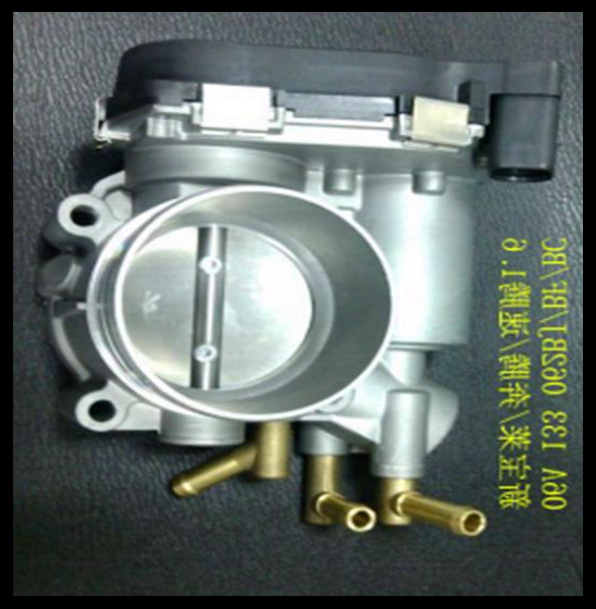 ФОТО 55mm Electronic Throttle Body for VW Sagitar/Bengteng B50 SEAT DROSSELKLAPPE 06A133062BC 06A133062BJ 06A133062BF