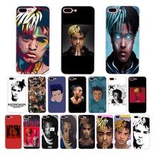 Rap Singer XXXTentacion MC Soft silicone phone cover for case iphone x xr xs max se Coque 5 5s 6 6s 7 8 plus TPU fashion shell