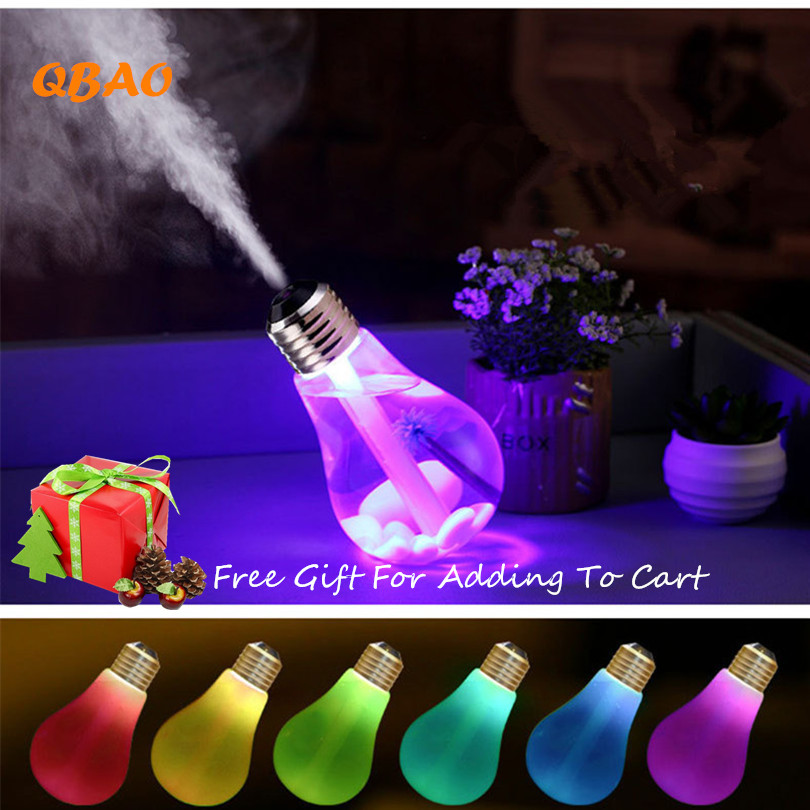 Humidifier Air Aromatherapy Ultrasonic Aroma Diffuser 400ML USB 7Colors Night Light Essential Oil Mist New Fogger Humidifiers