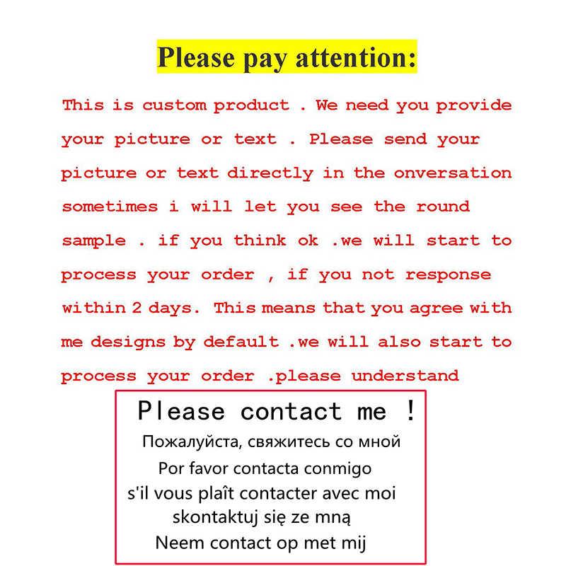 1 PC CUSTOM Photo Text Glass Cabochon Tie คลิปสำหรับผู้ชาย Silver สีโลหะ Tie CLAMP Pins สามีพ่อปรับแต่งของขวัญ