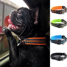 Fashion Pet Dog Collar Reflective Nylon Leash Leads Puppy Collar For Small Big Large Dogs Reflective Collar Pet Leads Safety where memory leads