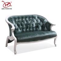 Современные диван стул высококачественные кресла отскок губки гостиной деревянная мебель кожи нескольких цветов одноцветное стулья