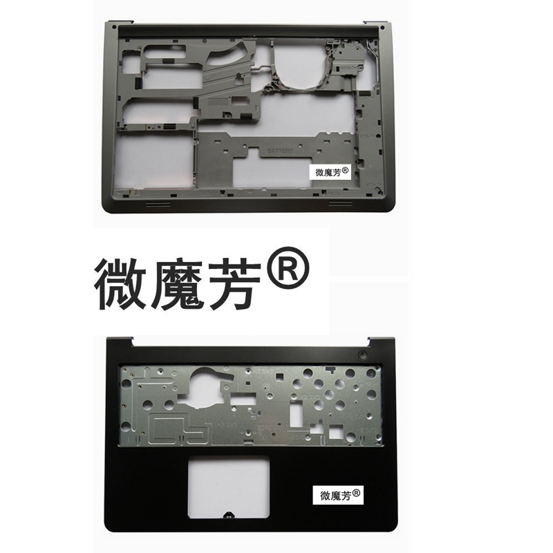 New For Dell For Inspiron 15-5000 5547 5548 5545 Upper Case + Base Bottom Cover Lower Case 0K1M13 06WV6 06Y7PM new for dell inspiron 15r 5545 5547 5548 5549 laptop bottom case back cover replace e shell 01f4mm black page 5