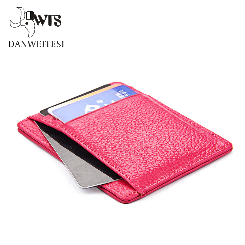 [DWTS]2017 New Slim Genuine Leather Mens Wallet Man Cowhide Cover Coin Purse Small Brand Male Credit&id Multifunctional Walets