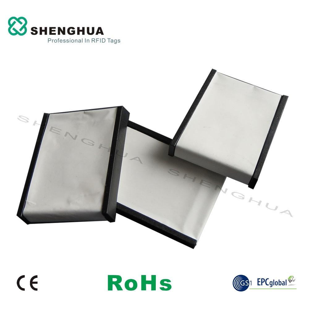 10pcs/pack UHF Long Distance Reading Waterproof Anti Metal RFID Tag EPC 96 Bit User 512 Bit Plastic White Blank Printable