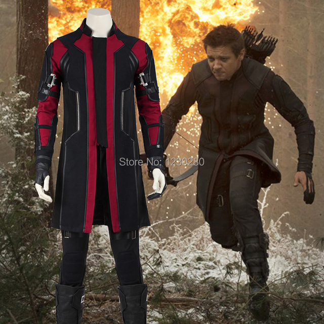 Movie The Avengers 2 Age of Ultron Hawkeye Cosplay Costume Superhero Clinton Francis Barton Costume Halloween  sc 1 st  AliExpress.com & Movie The Avengers 2 Age of Ultron Hawkeye Cosplay Costume Superhero ...