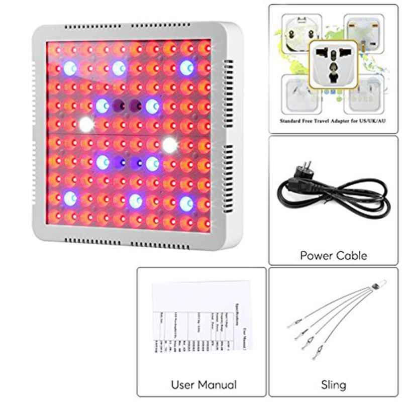 300W LED plante grandir lumière spectre complet IR UV intérieur hydroponique lampe serre Kit d'éclairage