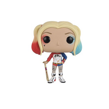 Funko pop Suicide Squad Harley Quinn Joker Vinyl action Figure Collectible Model Toys for children birthday gift no box