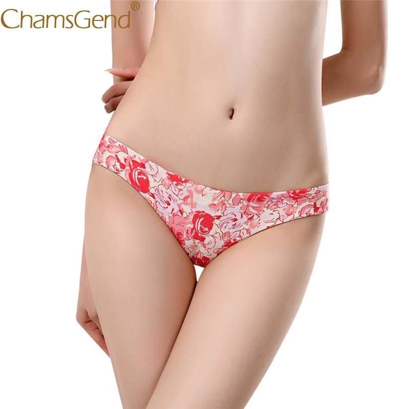Chamsgend Intimates Sexy Underwear Women Hot Leopard Print Comfy Seamless Briefs Panty 80111