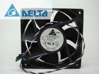 델타 afc1212de 12038 12cm 120mm dc 12 v 1.6a pwm 볼 팬 서모 스탯 인버터 서버 냉각 팬용 원본|fans letter|fan with thermostatthermostat alarm -