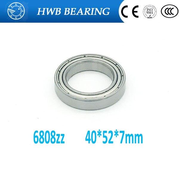 20pcs S6808 Zz 1pcs 40x52x7mm Stainless Steel Metric Thin