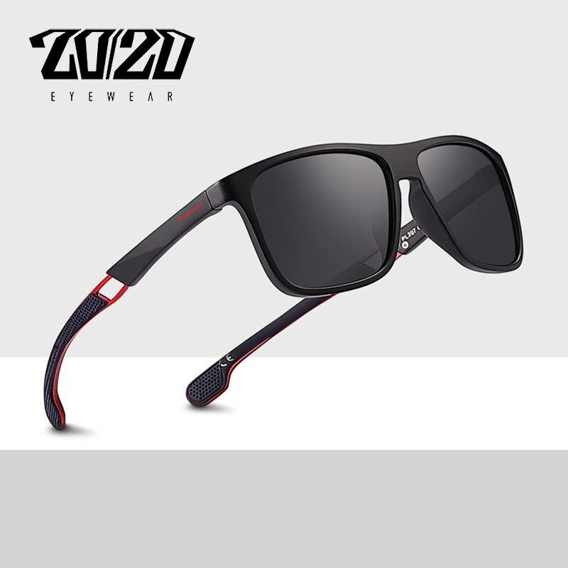 20/20 Marke Neue Klassische Polarisierte Sonnenbrille Männer Fahren Gafas Platz Metall Rahmen Brillen Männlichen Sonne Gläser Für Männer Oculos 397