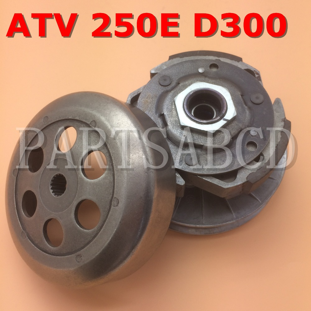 Partsabcd Buyang D300 300cc Atv Quad 16t Clutch Driven