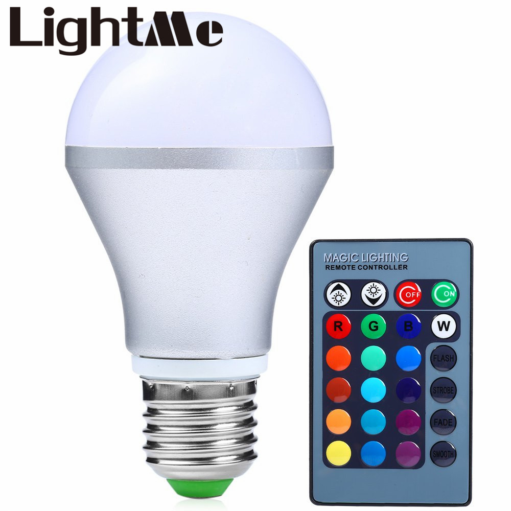 2016 85 265v Colors Changing Changing E27 3w 300lm Led Light Bulb Bulb Dimmable Rgb
