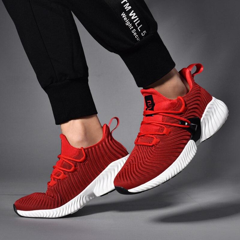Hemmyi Homme chaussures adulte respirant baskets hommes automne chaussures à lacets hommes haute qualité Chaussure Homme décontracté 39-45