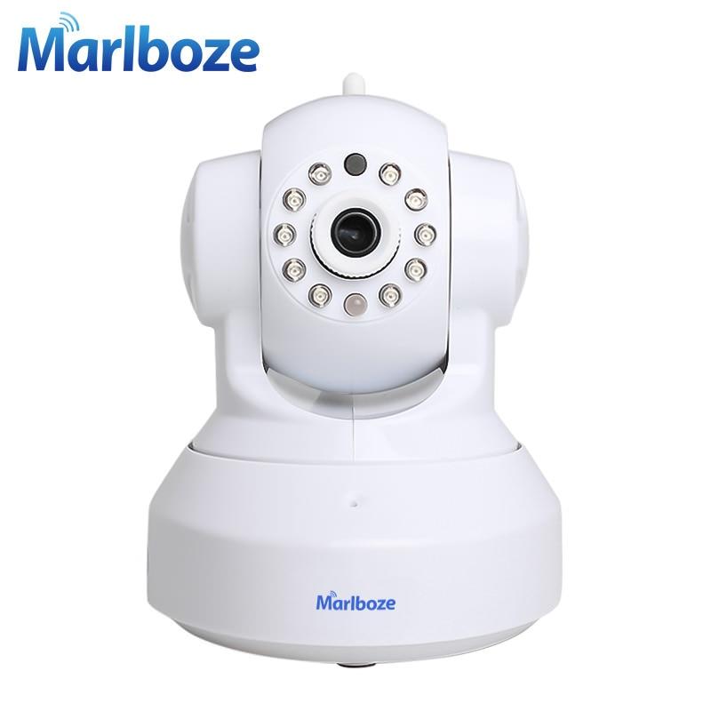 imágenes para Blanco Marlboze C7837WIP CCTV 720 P Cámara Domo IP Wifi Cámara día de Visión Nocturna de HD Inalámbrico Cámara de Seguridad P2P IOS Android APP