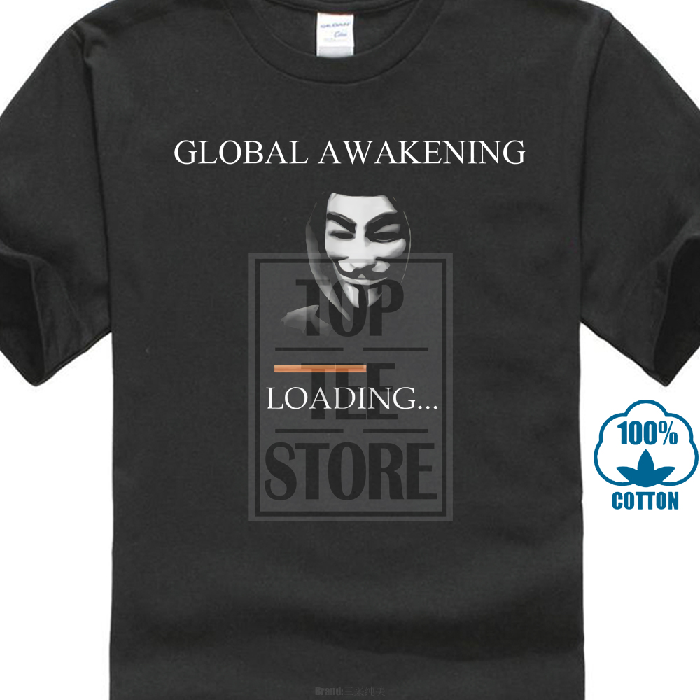 Anonymous T Shirt V For Vendetta Mask Mens Womens We Are The 99% T Shirt Dtg9