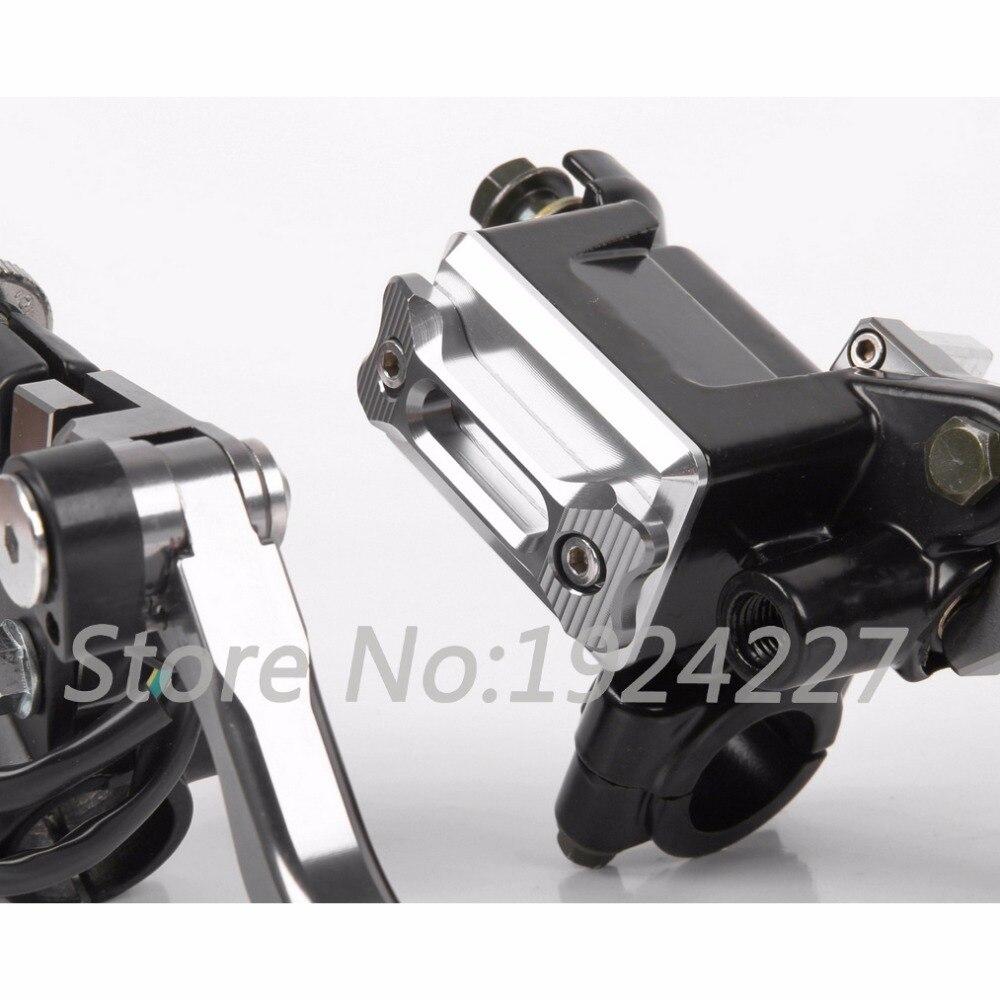 8 Colors For Suzuki DR250R DR 250 R 1997-2000 250SB SB 2002-2006 Motocross Off Road Brake Master Cylinder Clutch Levers 2003