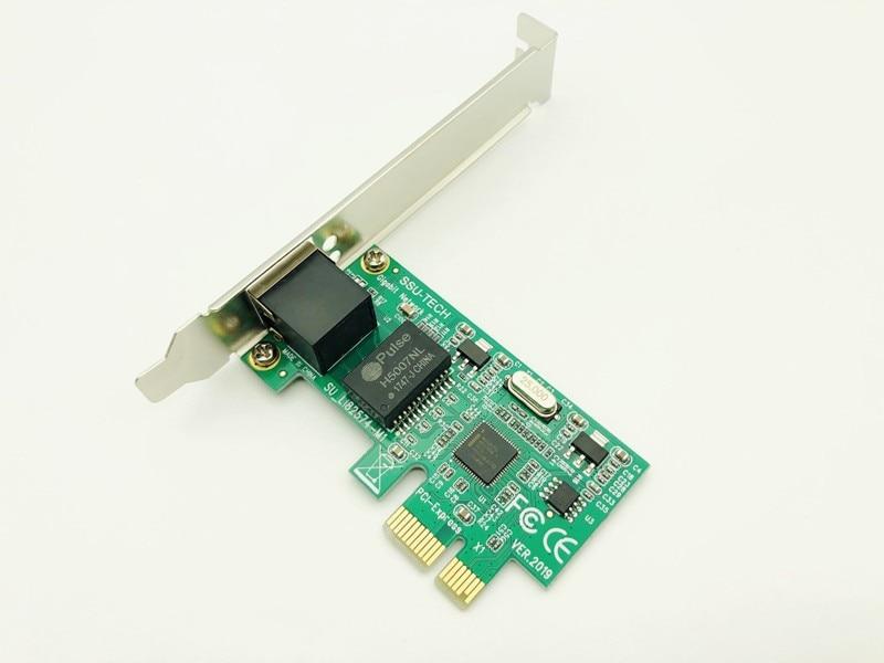 H1111Z PCI-E Network Cards Gigabit Ethernet Adapter LAN Card RJ-45 Network Adapter Enternet for INTEL 82574L/9301CT for ESXI PXE 5