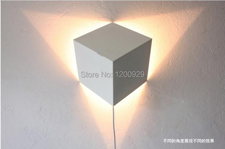 ФОТО Free Shipping Square Book Wall Lamp Modern Iron Creative Light for Aisle/Living Room Home Decoration WLL-42