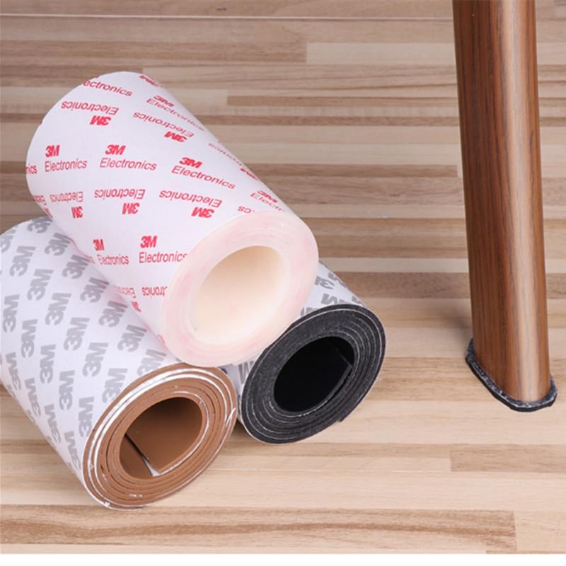3M Self Adhesive Rubber Furniture Feet Pads Silicone Door Bumper Damper Shock Absorber Sofa Table Chair Leg Floor Protector Mat