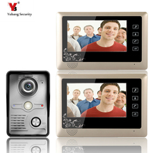 """Yobang Security 7 """"LCD Video Door Phone Video Intercom Doorbell Home Security IR Camera Monitor With Night Vision Videoportero"""