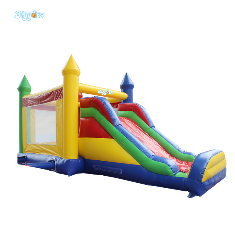 Wholesale Kids Inflatable Bouncer Commercial Bouncy Castle Colorful Inflatable Jumping Castle free by sea cartoon printing inflatable bouncer inflatable bouncer slide combo commercial inflatable bouncy castle for sale
