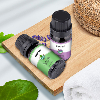 Essential Oil for Diffuser, Aromatherapy Oil Humidifier 6 Kinds Fragrance of Lavender, Tea Tree, Rosemary, Lemongrass, Orange 1