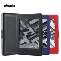 Witsp @ D Ultra Slim PU кожаный чехол для Amazon для kindle 1 2 3 paperwhite Планшеты В виде ракушки 6 дюймов