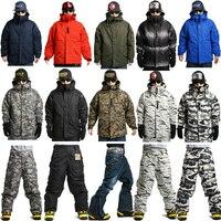 New Premium Edition Southplay Winter Season 10,000mm Waterproof Ski Snowboard Warming Multi Camo Military Jackets OR Pants
