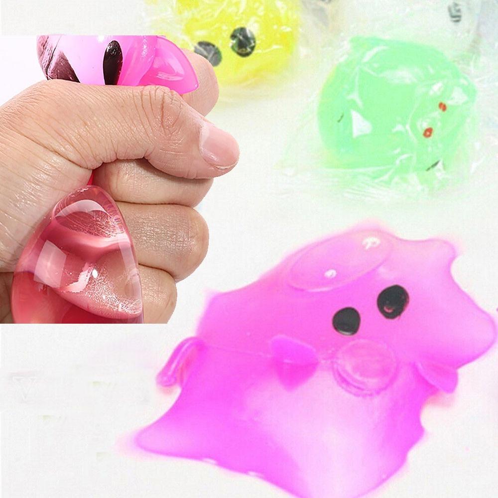 Squishies Antistress Splat Ball Pig Toys Funny Liquid Inside Prank Novelty Toys Squishy kawaii 25S71228 drop shipping