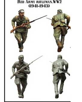 Scale Models 1 35 WW2 Soviet Army D models WWII Resin Model Free Shipping