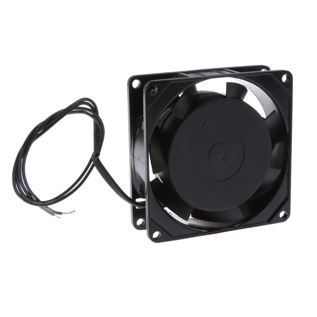 Dovewill 8025 80mm Cooling Cooler Fan 2V AC 2700 RPM AC Condenser Industrial Fan