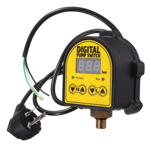 Wpc 10 G1 2 Quot Digital Water Pump Switch Electronic