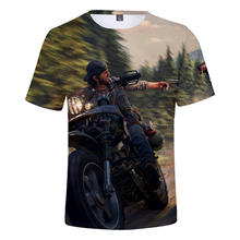 3D Days Gone t shirt Game Harajuku Summer Fashion Short sleeve Men/Women Tshirt 2019 Hot Days Gone Print Casual Tops Tees 4XL women who have gone forth
