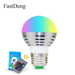 RGB Bulb Lamp E27 E14 LED Bulb