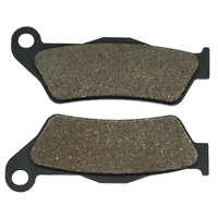 Cyleto Motorcycle Rear Brake Pads for BMW K1300R Carbon 2012 K1300S 2009-2013 K1300S Sport / HP 2012 2013