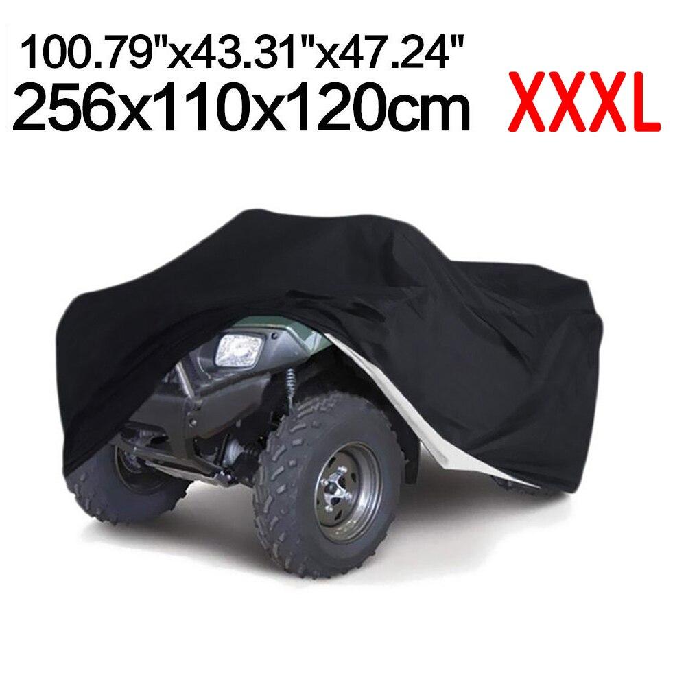 XXXL ATV Quad noir couverture étanche à la poussière Anti-UV couverture de pluie pour Polaris Magnum hors-la-loi Sportsman Xplorer Trail Boss