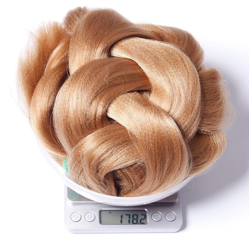 Hair Braids Qp Hair Extensions Kanekalon Jumbo Braid Hair 165g Ultra Big Box Braiding Hair 25-100pcs Lot Braids 165g Usa By Ups Shipping Jumbo Braids