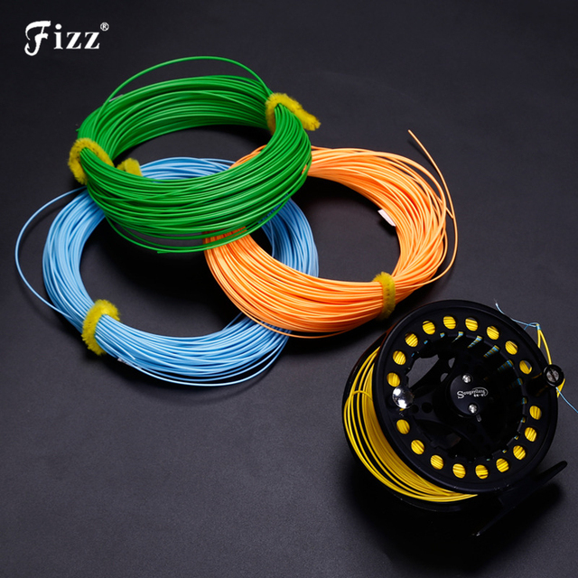 Professional Multifiament Nylon Rubber Cover Fly Fishing Line 100ft 30m Weight Forward Floating Fly Fishing Cord 4# 5# 6# 7# 8#