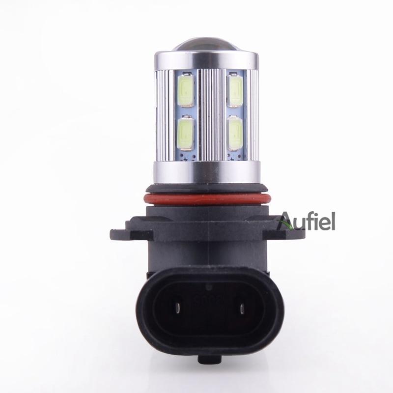 2x 9006 HB4 9012 LED Xenon White 6000K 12-SMD 5630 Q5 Led Fog Lights Bulbs Daytime Driving Lighting for BUICK Kia Rio etc.