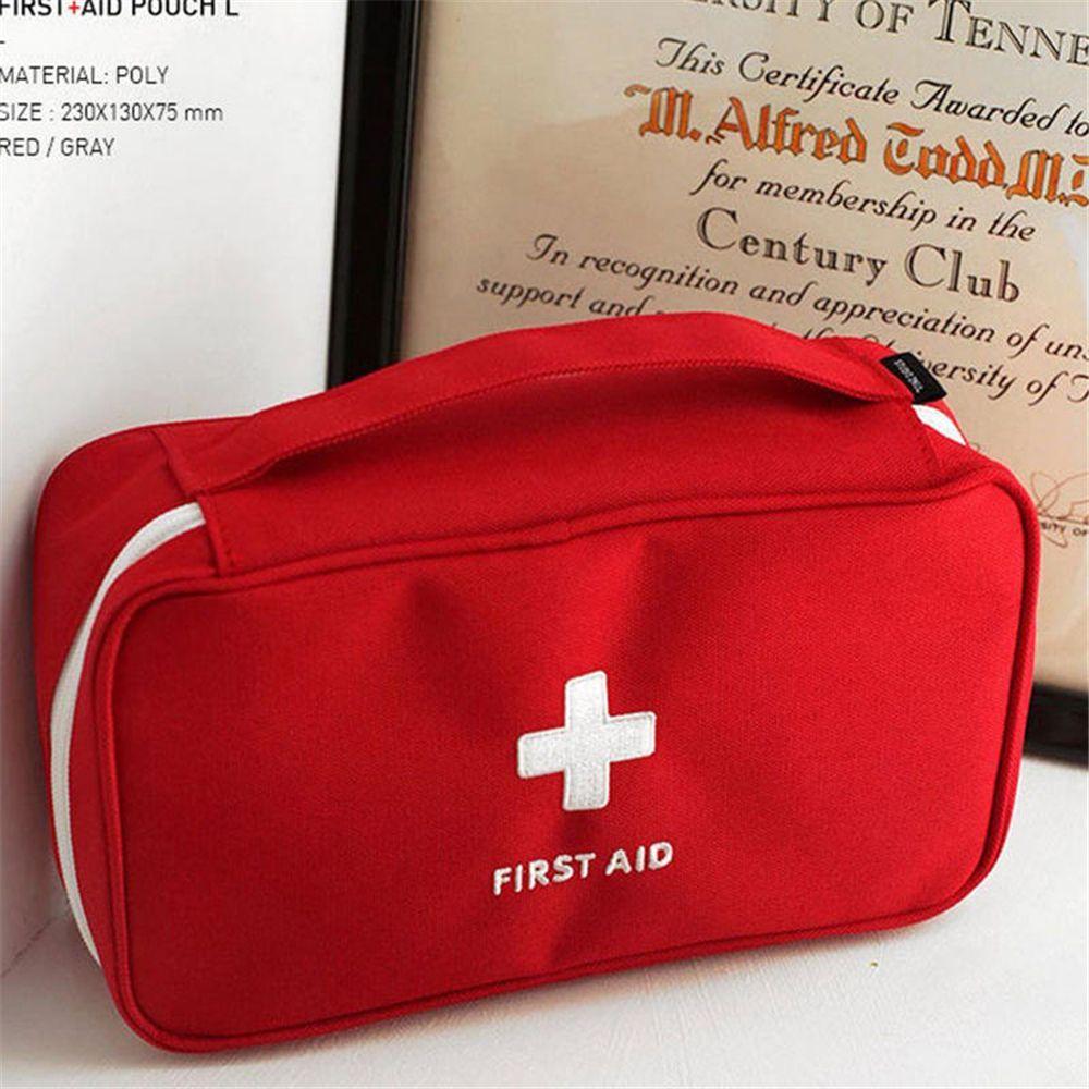 Portable Camping First Aid Kit Emergency Medical Bag Storage Case Waterproof Car kits bag Outdoor Travel Survival kit Empty bag 2
