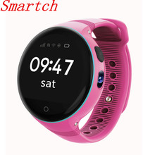Smartch kids Children S668 Smart Watch Android 1.22 inch round screen 240*240 Wristwatch GPS SOS support SIM card Smartwatch