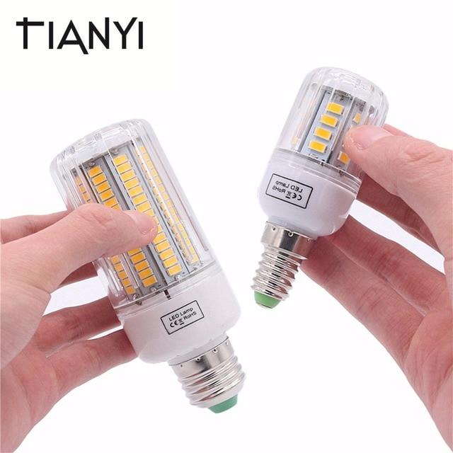 E27 LED Lamp 220V 5730 SMD E14 LED Bulbs Light Corn Lamp 3W 5W 7W 9W 12W 15W Lampada Ampoule Candle Luz Spotlight Home Lighting