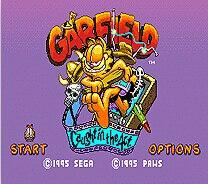 Garfield 16 bit MD Game Card For Sega Mega Drive For Genesis