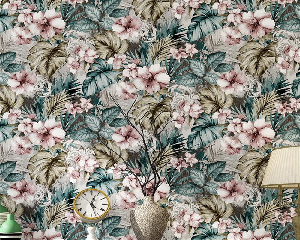 Beibehang Southeast Asia wallpaper Home decoration living room bedroom high quality imported  pure paper TV background wallpaper asia home кан джо традиционный столик